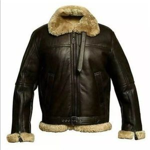 FREE AIRPODS WINTER SHEARLING JACKET